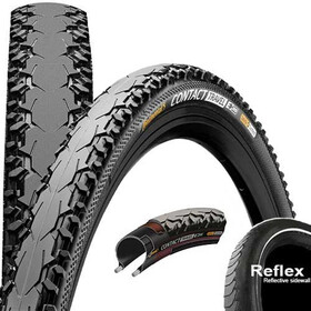 "Continental Contact Travel E-25 Wired-on Tire 28"" Reflex Duraskin black"